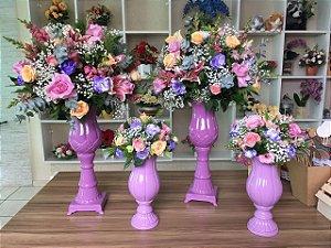 Arranjo com Flores Coloridas Modelo 13