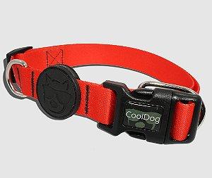 Coleira para Cachorro - CoolDog - Rosso