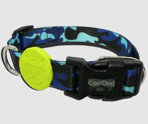 Coleira para Cachorro - Blue Army - CoolDog