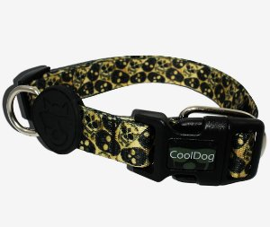 Coleira para Cachorro - Skull - CoolDog