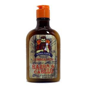 Shampoo Barba e Cabelo Lumberjack Barba Forte 170ml
