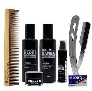 Kit UseBarba cuidado completo com a Barba