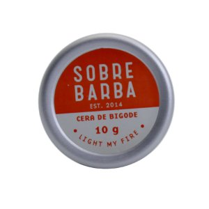 Cera de bigode Sobrebarba 10g - Light my Fire