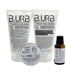 Kit Barba Urbana cuidado com a barba