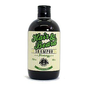 Shampoo para barba Frescor e Força Sailor Jack 250ml