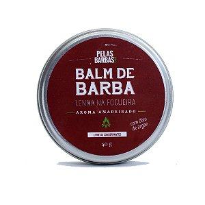 Balm/cera para barba Lenha na Fogueira Pelas Barbas - 40g