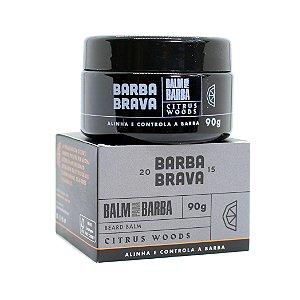 Balm para barba Citrus Woods Barba Brava - 90g
