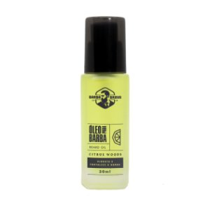 Óleo para barba Citrus Woods Barba Braba - 30ml