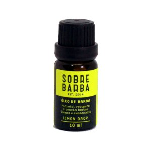 Óleo para barba Lemon Drop Sobrebarba - 10ml