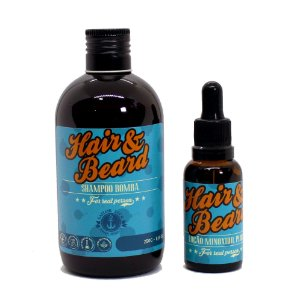 Kit Shampoo Bomba + Tônico Minoxidil Plus Sailor Jack