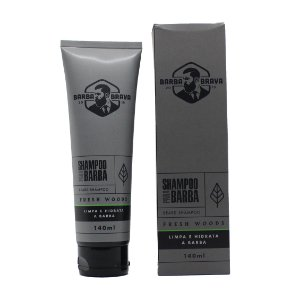 Shampoo para barba Fresh Woods Barba brava - 140ml