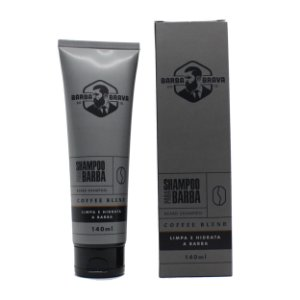 Shampoo para barba Coffee Blend Barba brava - 140ml