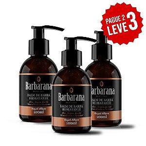 Balm de Barba Royal Allure - Barbarana - Pague 2 e Leve 3