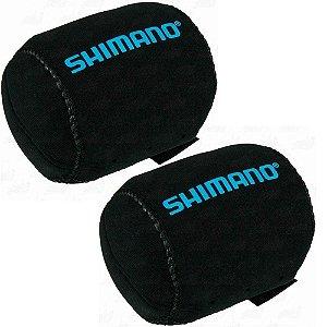 Capa para carretilhas em neoprene Shimano