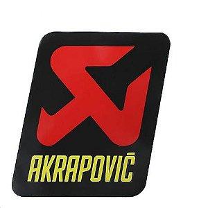 Adesivo Akrapovic 65X85MM