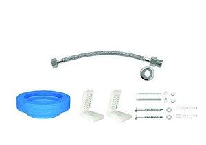 Kit de Instalação fixação lateral p/ bacia c/ cx acoplada - Deca