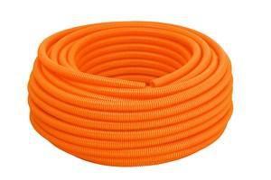 Eletroduto corrugado 50m laranja 3/4 - Tigre