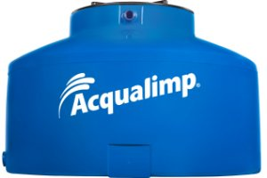 Caixa d'água protegida 1.750 litros - Acqualimp