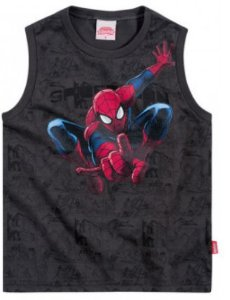Camiseta regata masculina - Homem Aranha - Brandili