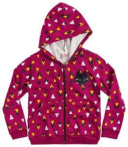 Jaqueta feminina estampada - Brandili