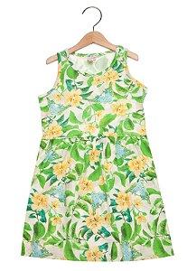 Vestido infantil estampado - Brandili