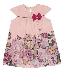 Vestido infantil estampado - Rovitex