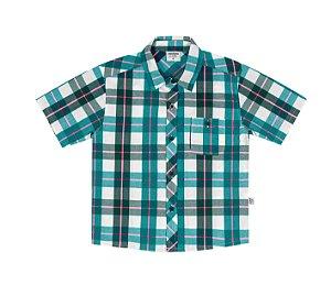 Camisa xadrez masculina manga curta - Rovitex
