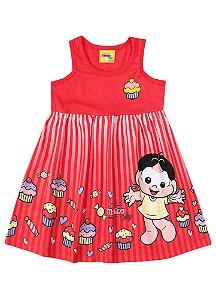Vestido Infantil Turma da Mônica - Magali - Brandili