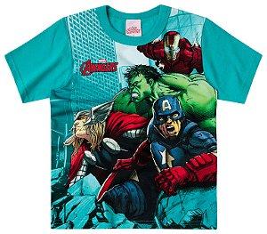 Camiseta masculina manga curta - Os vingadores- Brandili