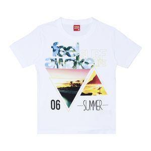 Camiseta masculina estampada manga curta - Kyly