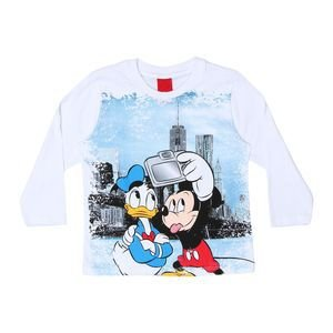 Camiseta Masculina Manga longa - Mickey e Donald - Cativa