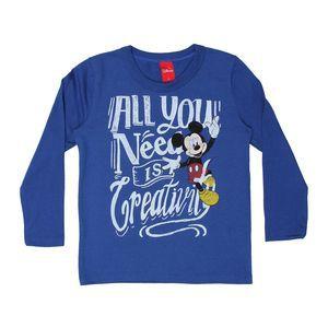 Camiseta Masculina Manga longa - Mickey - Cativa