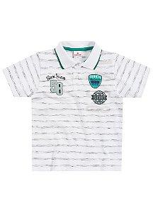 Camiseta Masculina Manga Curta e gola polo - Brandili