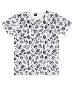 Camiseta Masculina Estampada Juvenil Rovitex