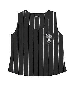 Camiseta Regata Feminina Juvenil Rovitex