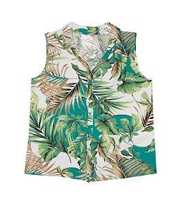 Camiseta regata feminina adulto - plus size- Rovitex
