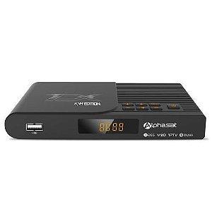 Receptor Alphasat TX KVM Edition Full HD