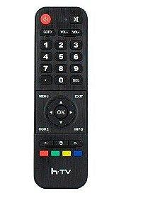 Controle Remoto para Receptor HTV Box 5