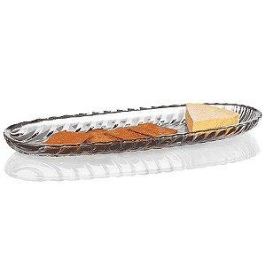 Bandeja de Cristal - 39,5x3 cm