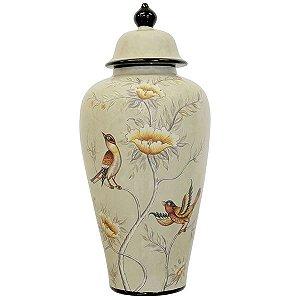 Potiche de Cerâmica - 49x23 cm
