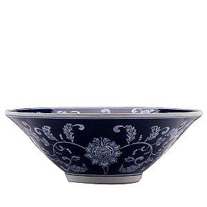 Centro de Mesa de Cerâmica - 40,5x14,5 cm