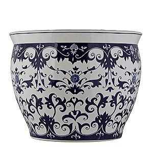 Vaso de Cerâmica Estampado - 40x31 cm