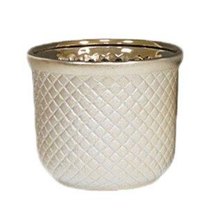 Cachepot de Cerâmica - 19x16 cm