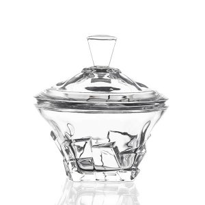 Bombonière de Cristal - 18,5x19 cm