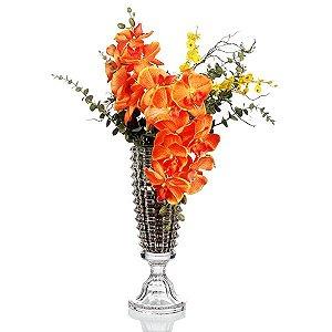 Vaso de Cristal - 14,5x42 cm