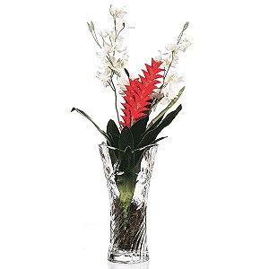 Vaso de Vidro - 30x15 cm