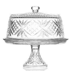 Boleira de Cristal Lapidado - 30x27,5 cm
