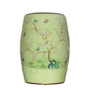 Seat Garden Verde - Banqueta de Cerâmica Árvore - 30x46 cm