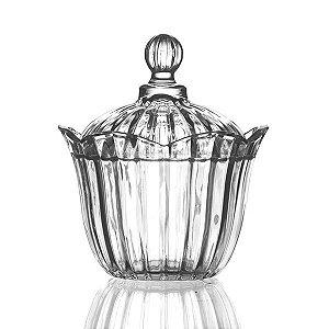Bombonière de Cristal - 16x17 cm