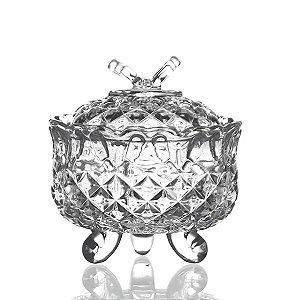 Bombonière de Cristal - 10x11 cm